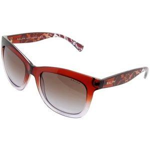 RA5210-151368 Women's Red Frame Sunglasses